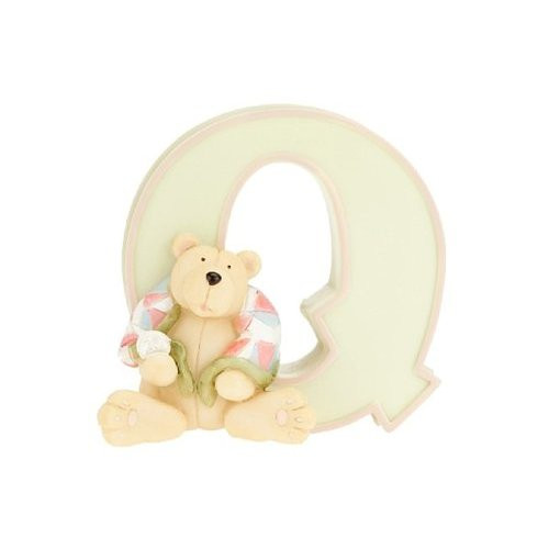 CHILD TO CHERISH Ceramic Letter Q Statue (3400Q) 025094340177