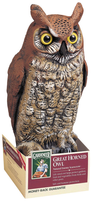 DALEN PRODUCTS - Plastic Owl Decoy (Bird Deterrent) (DALENOW6) 016069000301