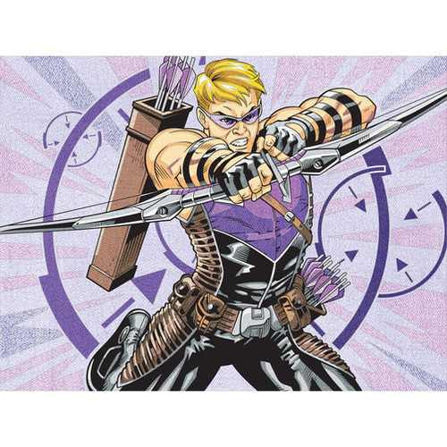 DIMENSIONS - Hawkeye Pencil by Number Kit (73-91502) 088677915025