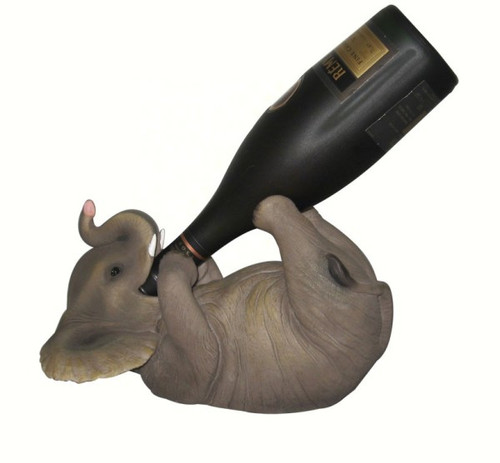 DWK CORPORATION - Elephant Wine Holder DWKHD23124 817834010934