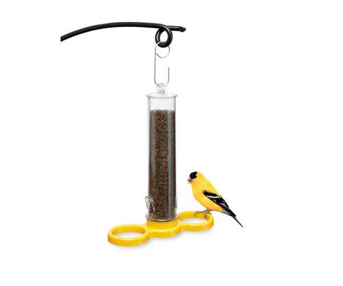DROLL YANKEES - Bird Lovers Finch Finder Nyjer Seed Feeder Thistle All Bird Feeder (DYBLFIND) 021964905354