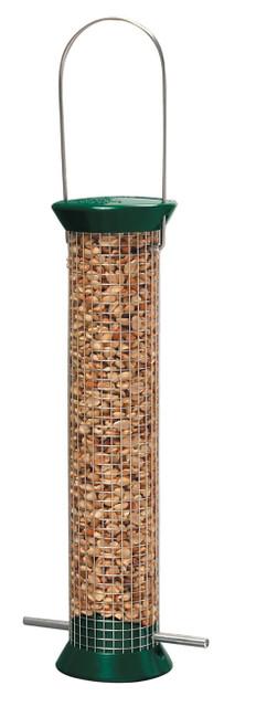 DROLL YANKEES - New Gen-Metal Peanut Bird Feeder 13 in. Green (Anti-Squirrel) (DYCJM13GP) 021964500436
