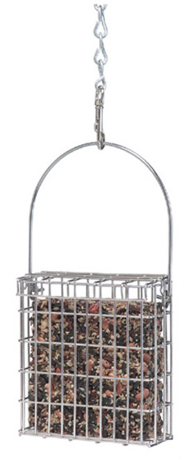 DROLL YANKEES - Stainless Steel Suet Bird Feeder (DYPSFS) 021964304102