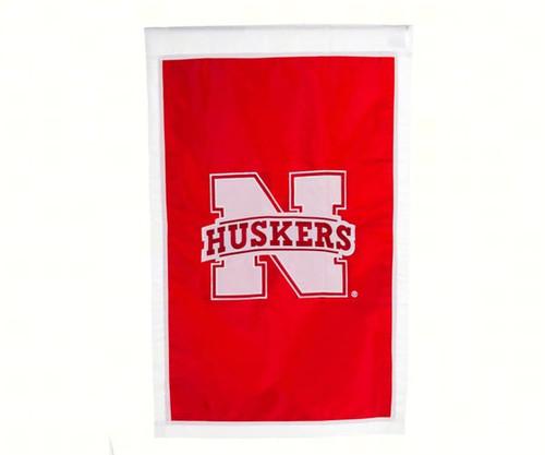 EVERGREEN ENTERPRISES - Nebraska Cornhusker Double Sided Regular House Flag EG15949C 746851890246