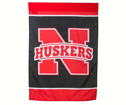 EVERGREEN ENTERPRISES - Nebraska Cornhusker Silk Screen Regular House Flag EG59619B 808412137204