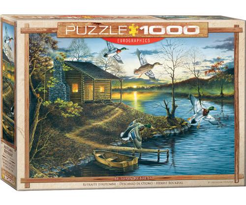 EUROGRAPHICS - Autumn Retreat 1000 Piece Jigsaw Puzzle EURO60000862 628136608626