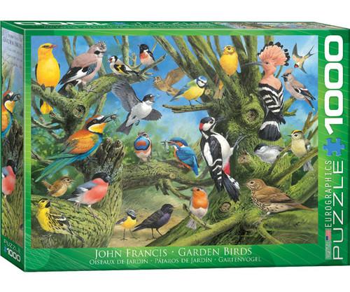 EUROGRAPHICS - Garden Birds 1000 Piece Jigsaw Puzzle EURO60000967 628136609678