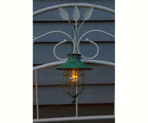 ECHO VALLEY - Vintage Pendant Style Edison Lunalite Solar Lantern EV4524 042338045247