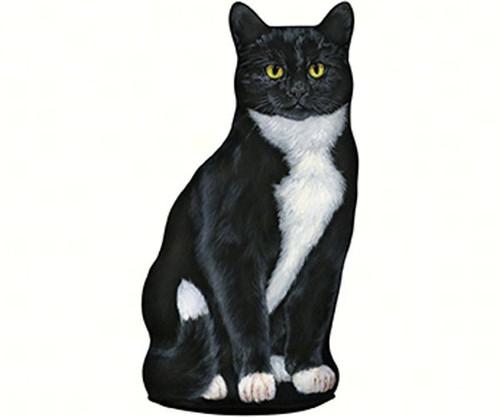 FIDDLER'S ELBOW - Tuxedo Cat Doorstop FE81 788353004738