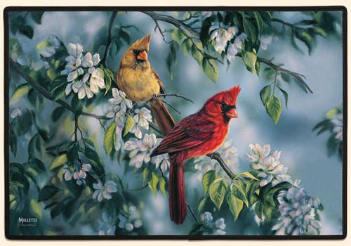 FIDDLER'S ELBOW - Cardinals (Print) Doormat (FED130) 788353002949