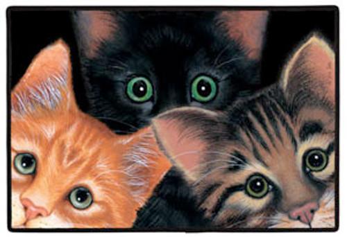 FIDDLER'S ELBOW - Peeping Toms (Print) Porch Doormat (FEX29) 788353229001