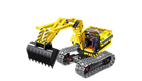 FIREFOX TOYS - Active Blocks Excavator/Robot 2 in 1 Building Set (6801) 643129983474
