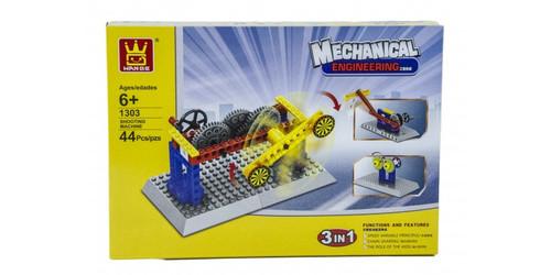 FIREFOX TOYS - Motion Target Mechanical Engineering Building Block Kit (WAG-1303) 6957642300507