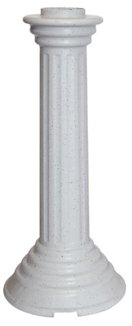 FARM INNOVATORS - Bird Bath Pedestal For HBC120 - Heavy Duty Plastic (FIPED1) 085045000314