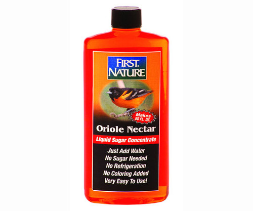 FIRST NATURE - 16 oz Oriole Nectar Concentrate (bird food) (FN3087) 039256830871