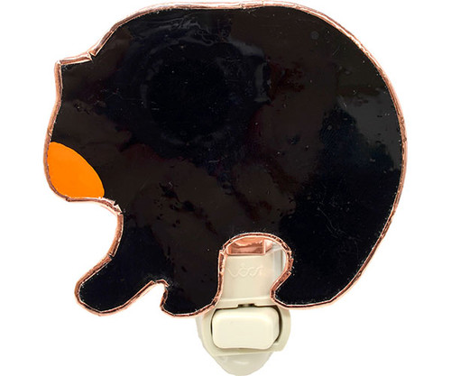 GIFT ESSENTIALS - Black Bear Nighlight GE302 645194903029