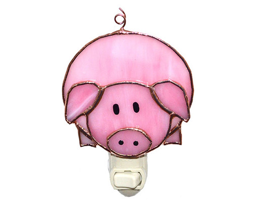 GIFT ESSENTIALS - Pink Pig Nightlight GE314 645194903142