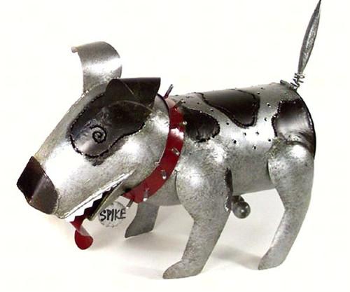 GIFT ESSENTIALS - Spike (Dog Shaped) Metal Lantern Small GEBLUEC632 804414916328