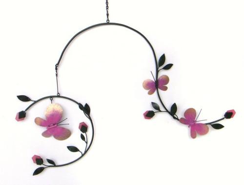 GIFT ESSENTIALS - Butterflies and Blossoms Mobile GEBLUEG473 804414020681