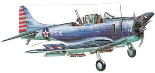 GUILLOWS - Douglas SBD3 Dauntless Balsa Wood Airplane Model Kit (1003) 072365010031