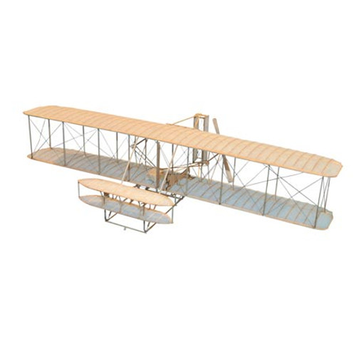 GUILLOWS - 1903 Wright Brothers Flyer Balsa Wood Airplane Model Kit (1202) 072365012028