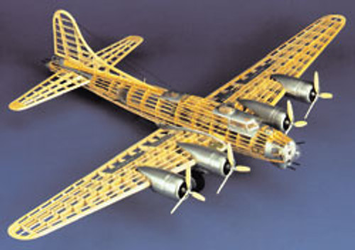 GUILLOWS - B-17G Flying Fortress Balsa Wood Airplane Model Kit (2002) 072365020023