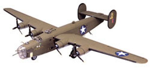 GUILLOWS - B-24D Liberator Balsa Wood Airplane Model Kit (2003) 072365020030
