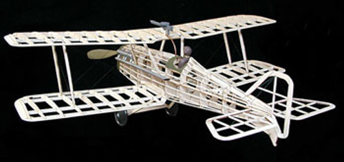 GUILLOWS - British SE-5A Balsa Wood Airplane Model Kit (202) 072365002029