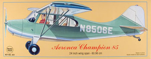GUILLOWS - Aeronca Champion Balsa Wood Airplane Model Kit (301) 072365103016