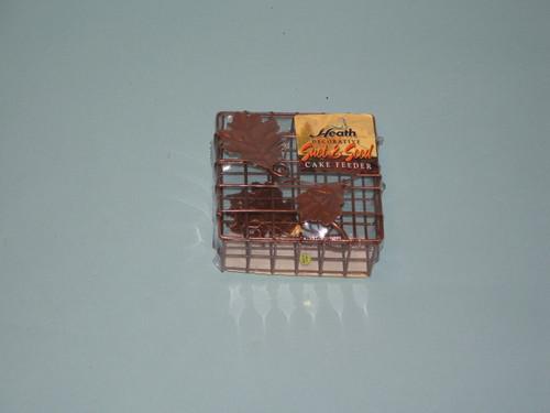 HEATH - Decorative Leaf Suet Basket Bird Feeder (HEATH2304) 085199023047