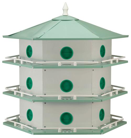 HEATH - Purple Martin Bird House 18 Room - Aluminum (HEATHAH18D) 085199034012
