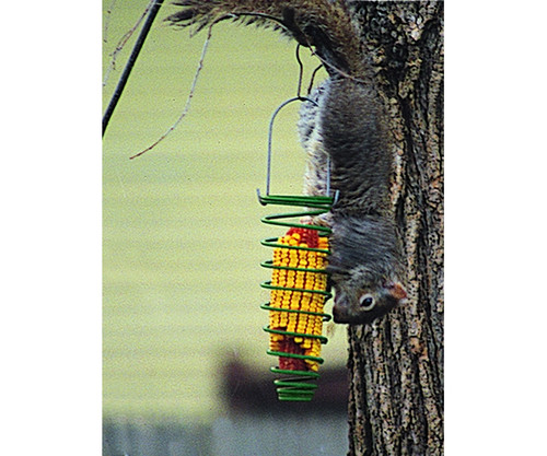 HERITAGE FARMS - Corn Trapper Bird Feeder Carded Green (HF75530) 047977000589