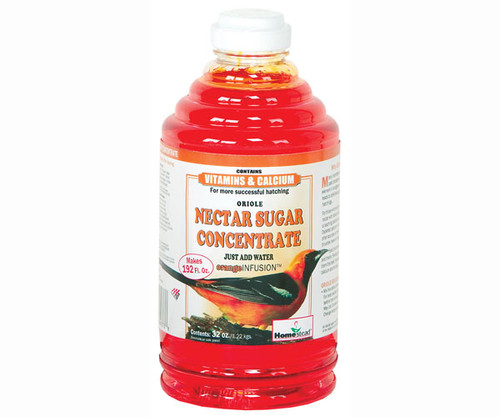 HOMESTEAD - 32 oz Orange Nectar Concentrate - Oriole Bird Food HS4373 841346143736