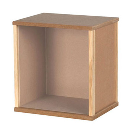 """HOUSEWORKS - 1"""" Scale Small Mdf Display Box Dollhouse Miniature (9044)"""
