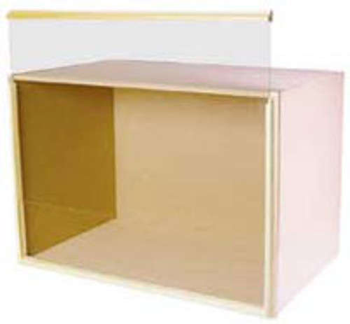 """HOUSEWORKS - 1"""" Scale Dollhouse Miniature - 9 Inch Deep Room Box Kit, Unfinished (9057) 022931090578"""