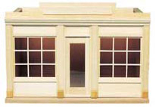 "HOUSEWORKS - 1"" Scale Dollhouse Miniature - Two Window Shop Kit (9993) 022931099939"