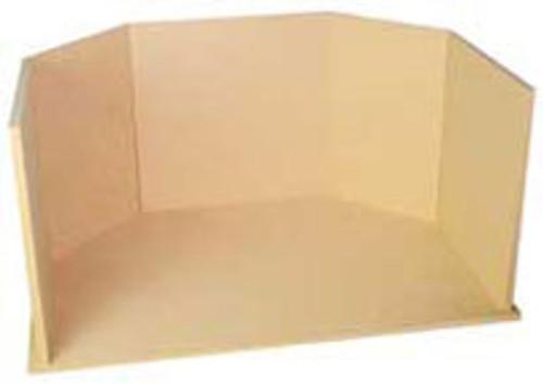 "HOUSEWORKS - 1"" Scale Dollhouse Miniature - Grand Room Box Kit (9998) 022931099984"