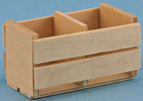 INTERNATIONAL MINIATURES - 1 Inch Scale Dollhouse Miniature - Crate (IM65047) 731851650471
