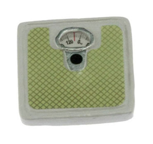INTERNATIONAL MINIATURES - 1 Inch Scale Dollhouse Miniature - Bathroom Scale (IM65096) 731851650969