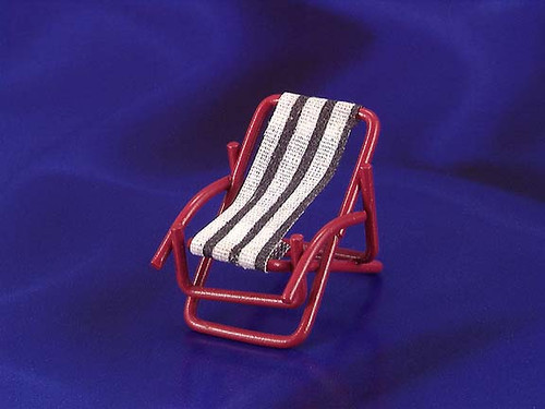 INTERNATIONAL MINIATURES - 1 Inch Scale Dollhouse Miniature Furniture - Lounge Chair (IM65368) 731851653687