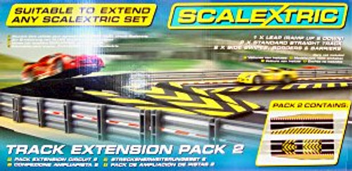 SCALEXTRIC - 1:32 Scale Extension Pack 2 Slot Car Track (Sport Track accessory pack) 5010963585112