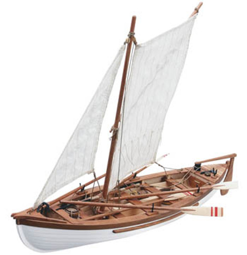 ARTESANIA LATINA - 1/25 Scale Providence New England's Whale Boat Wooden Ship Model Kit (19018) 8421426190182