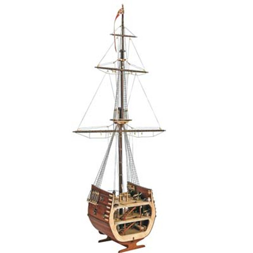 ARTESANIA LATINA - 20403 1/50 San Fransisco II Cross Section Wooden Model Ship Kit 8421426204032