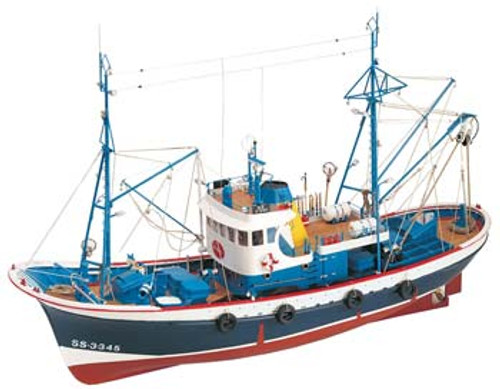 ARTESANIA LATINA - 20506 1/50 Marina II Wooden Model Ship Kit 8421426205060