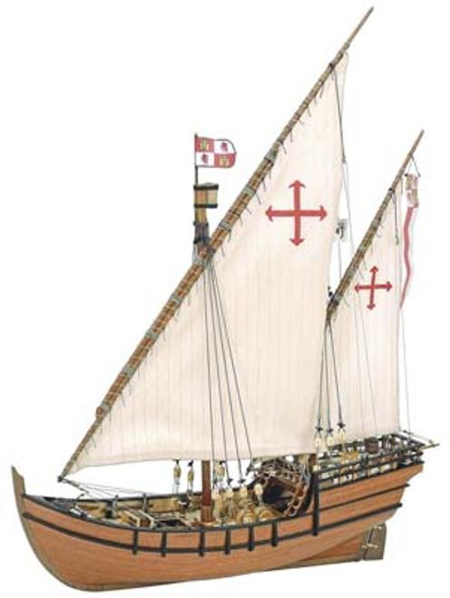 ARTESANIA LATINA - 1/65 Scale La Nina Wooden Ship Model Kit (22410) 8421426224108