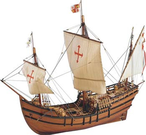 ARTESANIA LATINA - 1/65 Scale La Pinta Wooden Ship Model Kit (22412) 8421426224122