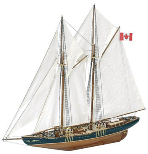 ARTESANIA LATINA - 1/75 Scale Bluenose II Wooden Ship Model Kit (22453) 8421426224535