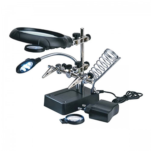 ARTESANIA LATINA - Magnifier Head Gear w/5 LED Lights (270223) 8421426670226