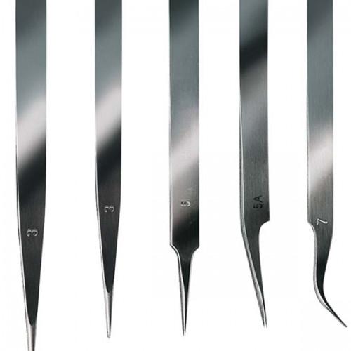 ARTESANIA LATINA - Stainless Steel Extra Fine Tweezer Tool Set 5pc (27068) 8421426270686