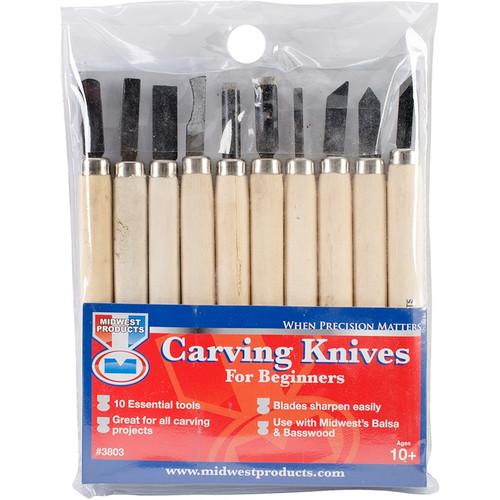 MIDWEST - Carving Knife Set-10pcs (3803) 091157038039